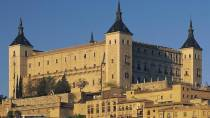 View of the Alcázar fortress, housing the National Public Library in Toledo / Library of Castile-La Mancha. Toledo © Turespaña