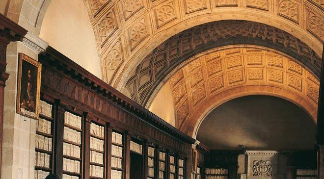 Vault inside the General Archive of the Indies. Seville © Turespaña