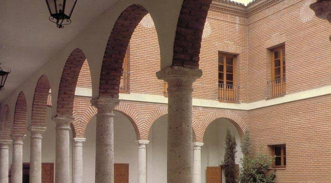 Interior courtyard in the Archive of the Royal Chancery in Valladolid © Ministerio de Cultura