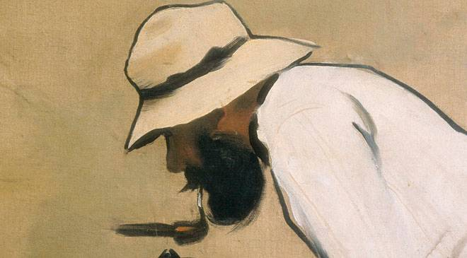 Ramon casas illustration painting biography and works at for Artiste peintre catalan