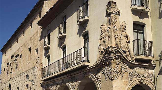 Detail of the façade of the Casa del Corregidor. Lorca © Turespaña