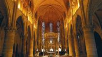 Interior of Royal Collegiate Church of Roncesvalles © Turespaña