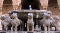 Los Leones fountain in the Alhambra