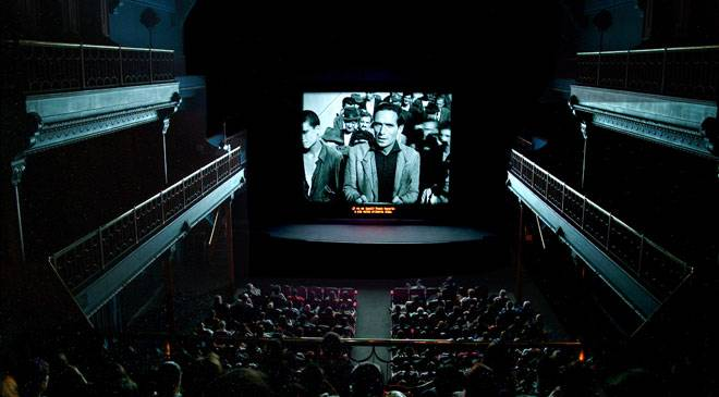 Screening of a film from the Spanish Film Archive at the Cine Doré cinema. Madrid © Ministerio de Cultura