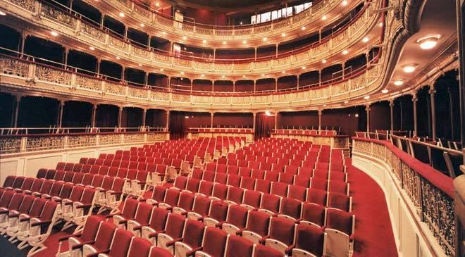 Mar a guerrero theatre theatre in madrid at spain is culture for Ministerio de interior madrid