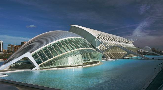 Arts and Sciences Centre in Valencia © Turespaña