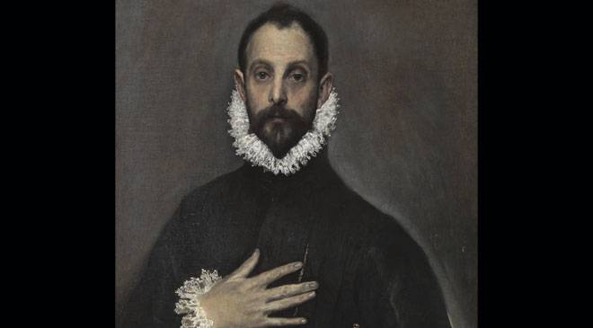 'The nobleman with his hand on his chest', El Greco © Madrid, Museo Nacional del Prado