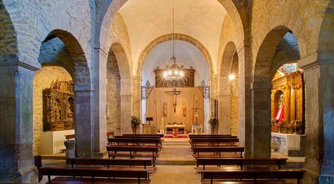 Church of San Juan de Santianes de Pravia - interior © Asturias