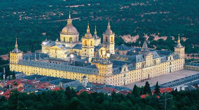Royal Monastery Of San Lorenzo De El Escorial Monuments In San Lorenzo De El Escorial Madrid At Spain Is Culture