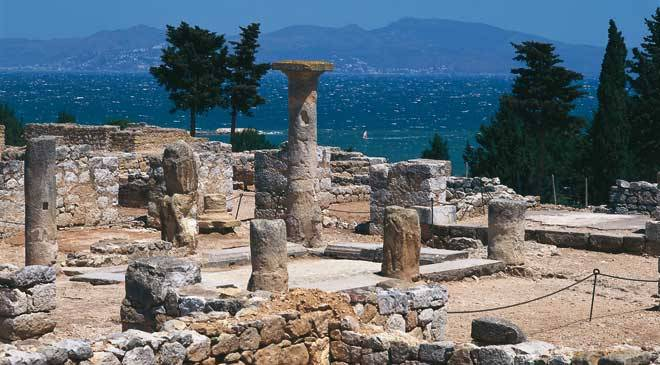 Greek ruins at Empurias © Turespaña