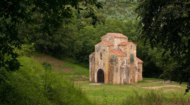 Church of San Miguel de Lillo, Oviedo © Asturias