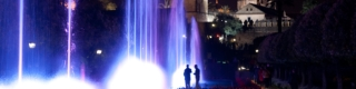 Cordoba: the Light of Cultures – Water, light and sound show in the Alcázar fortress in Cordoba © Consorcio de Turismo de Córdoba