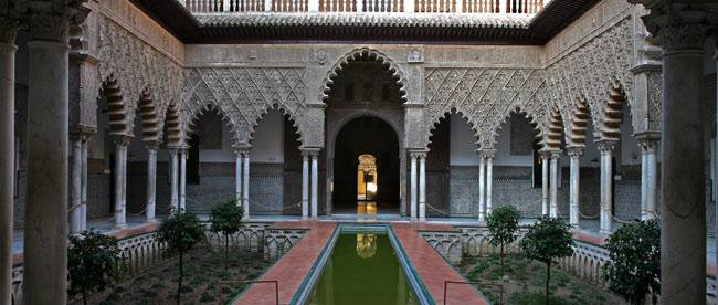 Programme of concerts nights in the gardens of seville s for Cuarto real alcazar sevilla