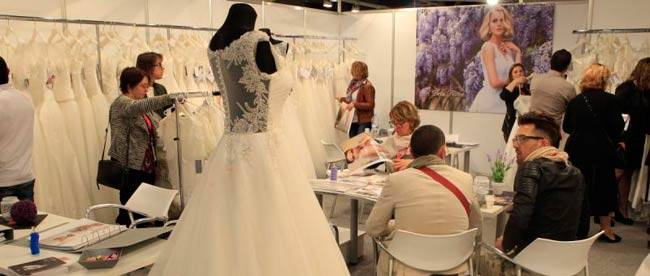Stand at the Barcelona Bridal Fashion Week Salon © Barcelona Bridal Fashion Week