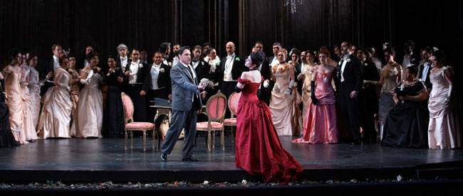 Performance of La Traviata at the Teatro Real in 2015 © Javier del Real / Teatro Real