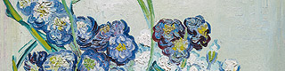 Detail from: Vincent van Gogh (1853-1890), Nature morte, vase avec oeillets (Still life, Vase with carnations), 1890. Oil on canvas. 41 x 32 cm. © Alicia Koplowitz - Grupo Omega Capital Collection