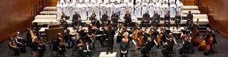 A concert by the Scottish Chamber Orchestra with the Orfeón Donostiarra (San Sebastián Choral Society), in the 74th San Sebastián Music Fortnight © Quincena Musical de San Sebastián