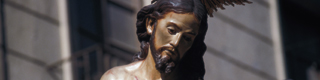 Partial view of an image of Christ by Salzillo, in Easter week in Murcia © Turespaña
