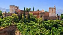 General view of the Alhambra palace
