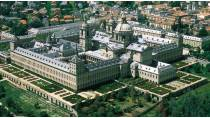 Aerial view of the monastery and site of El Escorial © Turespaña