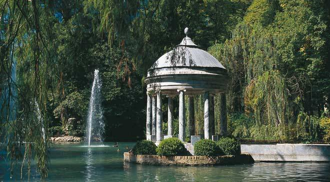 Pr ncipe garden gardens in aranjuez madrid at spain is for Jardin del principe aranjuez restaurante