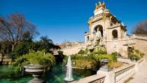 Ciudadela Park with pond and fountain. Barcelona © Turespaña
