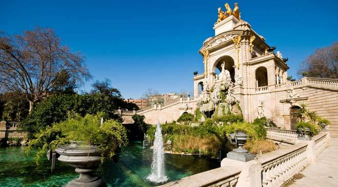 parc de la ciutadella jardins barcelone sur spain is culture. Black Bedroom Furniture Sets. Home Design Ideas