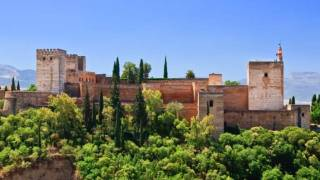 General view of the Alhambra palace. Granada © Turespaña