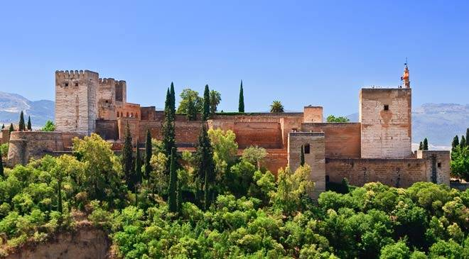 General view of the Alhambra