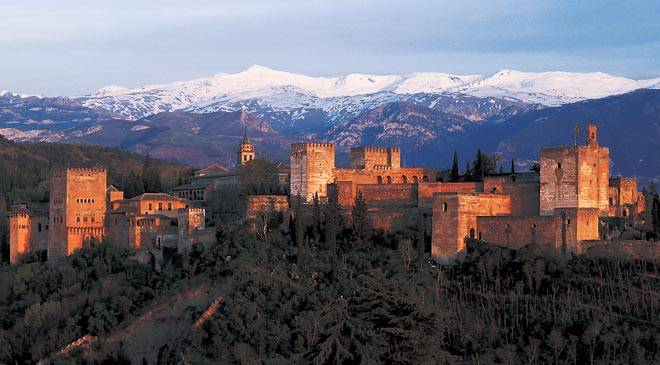 View of the Alhambra. Granada © Turespaña