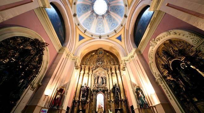 Church of San Pablo in Zaragoza: monuments in Zaragoza at Spain is culture.