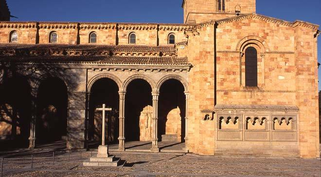 Monuments In Avila Spain Basilica De San Vicente Cultural Tourism In Castile And Leon Spain
