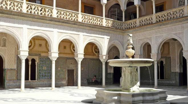 Casa de pilatos house monuments in seville at spain is for Casas de sofas en sevilla
