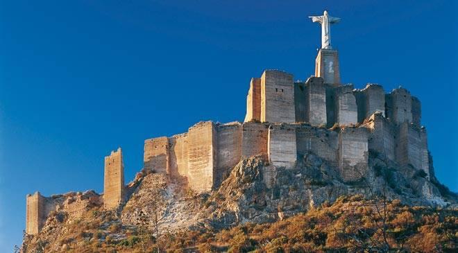 monuments de murcie espagne castillo de monteagudo tourisme culturel en murcie. Black Bedroom Furniture Sets. Home Design Ideas