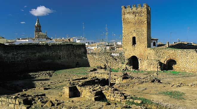View of the Castle of El Trovador Macías © José Lucas Ruiz. Diputación de Jaén