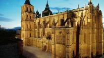 Exterior of the cathedral of Santa María in Astorga © Castilla y León