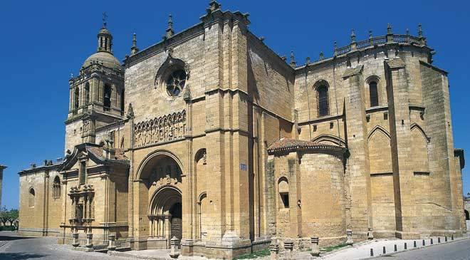 Ciudad rodrigo cathedral monuments in ciudad rodrigo for Oficina de turismo ciudad rodrigo