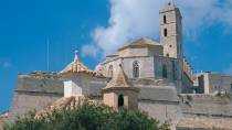 Exterior of Ibiza Cathedral © Turespaña
