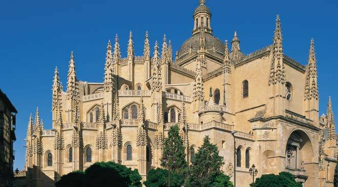 Segovia: cultural tourism Segovia at Spain is culture.