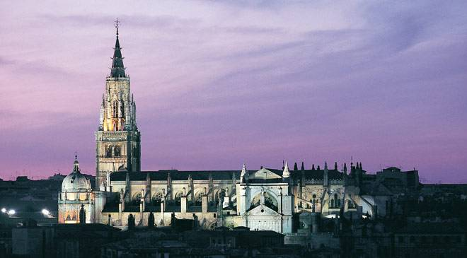 Toledo Cathedral: monuments in Toledo at Spain is culture.