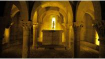 Crypt in the Church of San Martín de Tours © Larrion y Pimoulier. Archivo de Turismo «Reyno de Navarra»