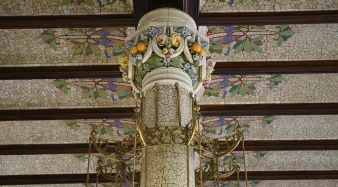Detail of the interior of the Estación del Norte station. Valencia © Turespaña