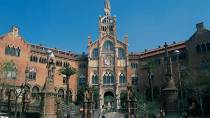 Santa Creu and Sant Pau Hospital. Barcelona © Turespaña
