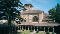 Cloister of the church of San Pedro de la Rúa. Estella-Lizarra, Navarre © Turespaña