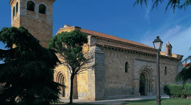 San Andres Church Monuments In Avila At Spain Is Culture