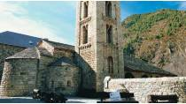 Partial view of the church of Santa Eulalia de Erill la Vall. La Vall de Boí, Lleida © Turespaña