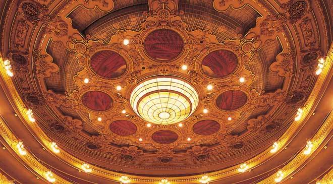 Stalls in the Gran Liceu theatre. Barcelona © Turespaña