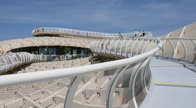 Metropol Parasol. Viewing point. Seville. © Turismo de Sevilla.