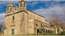 View of the Monastery of San Salvador de Lérez © TURGALICIA