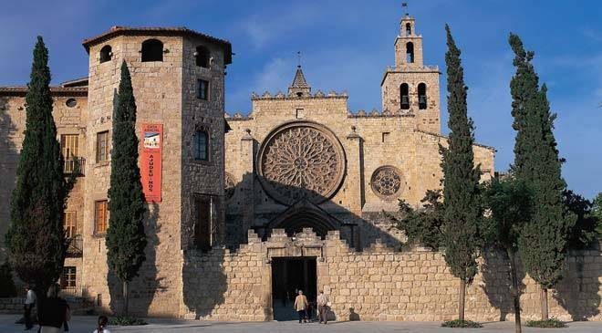 sant cugat del vall s monastery monuments in sant cugat
